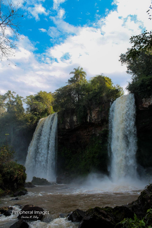 ARG130016 Double Waterfalls- Iguazu Argentina