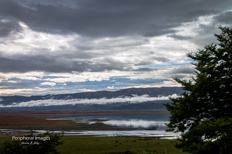 Mountain Side Lake- Patagonia Argentina