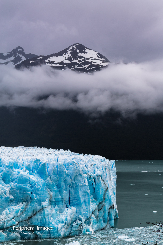 Mountains Over Perito Moreno Glacier- Patagonia Argentina