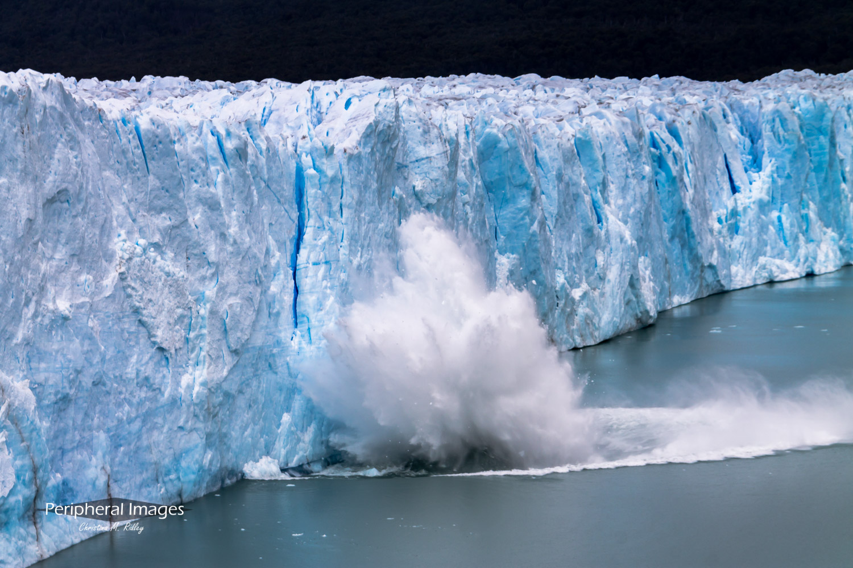 Perito Moreno Calving Glacier- Patagonia Argentina