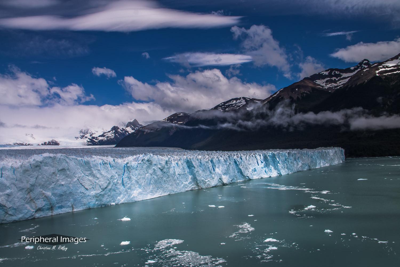 Mountains and Perito Moreno Glacier- Patagonia Argentina