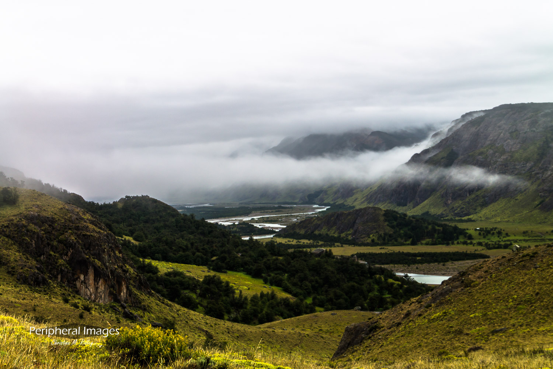 Cloudy El Chalten- Patagonia Argentina