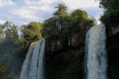 ARG130016 Double Waterfalls- Iguazu Argentina
