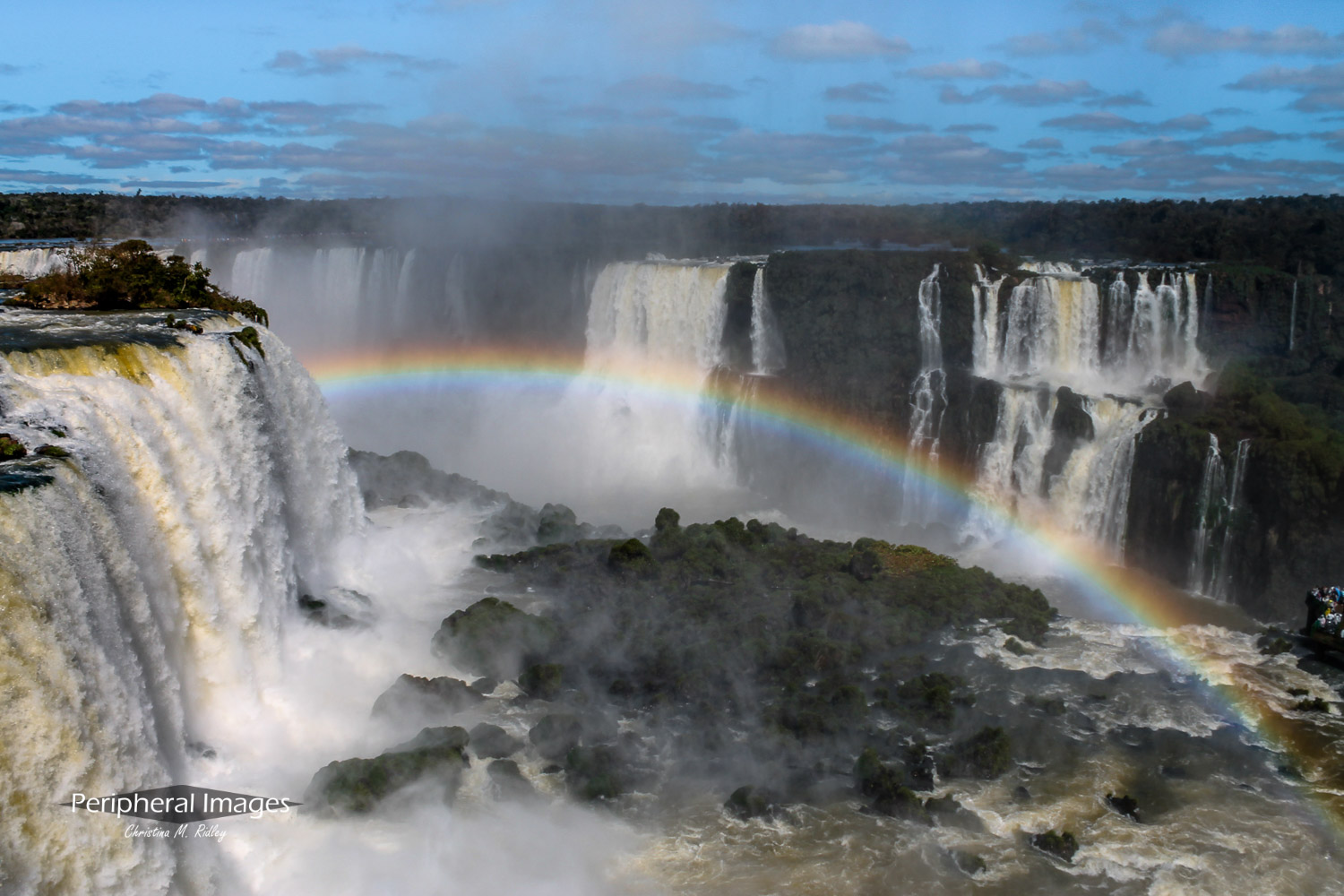 Surrounded by Waterfalls- Iguazu Falls Argentina