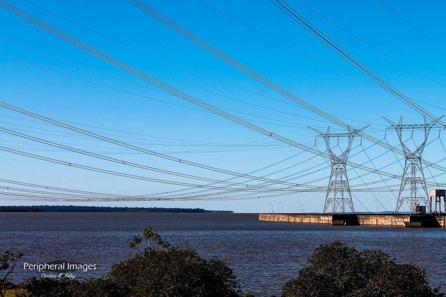 The Power of Water- Itaipu Binacional Iguazu Brazil