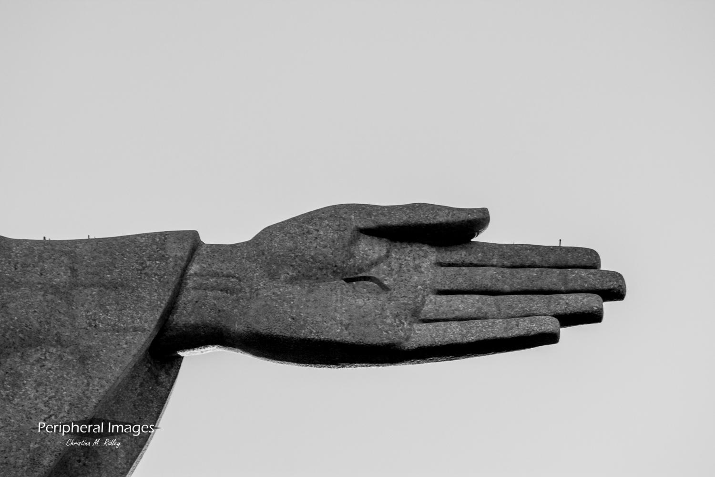 Christ the Redeemer's Hand- Rio de Janeiro Brazil