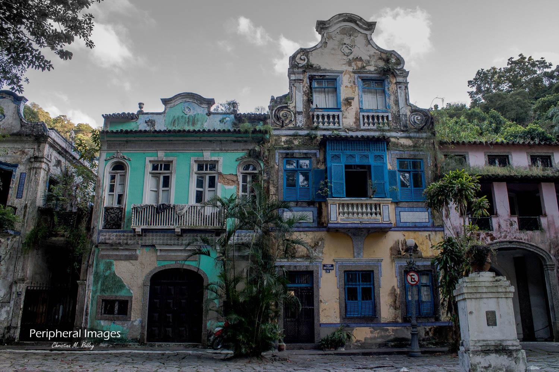 Old Colonial Building- Rio de Janeiro Brazil