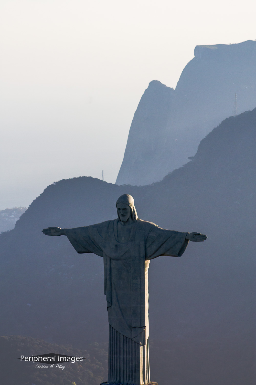 Mountains and Christ the Redeemer- Rio de Janeiro Brazil