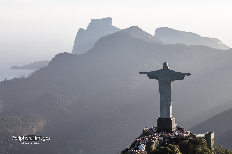 Aerial Photo of Christ the Redeemer- Rio de Janeiro