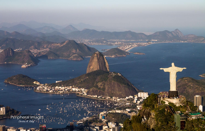 Sugarloaf and Christ the Redeemer- Rio de Janeiro Brazil