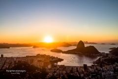 Sunrise over Sugarloaf- Rio de Janeiro Brazil