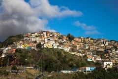 Hilltop Favela- Rio de Janeiro Brazil