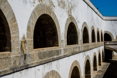 Arches in the Fort- Rio de Janeiro Brazil