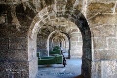 Cannons and Arches- Rio de Janeiro Brazil
