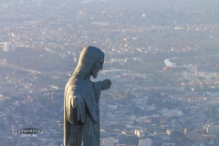 Aerial Shot of Christ the Redeemer- Rio de Janeiro Brazil
