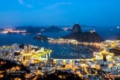Night lights of Rio de Janeiro- Brazil
